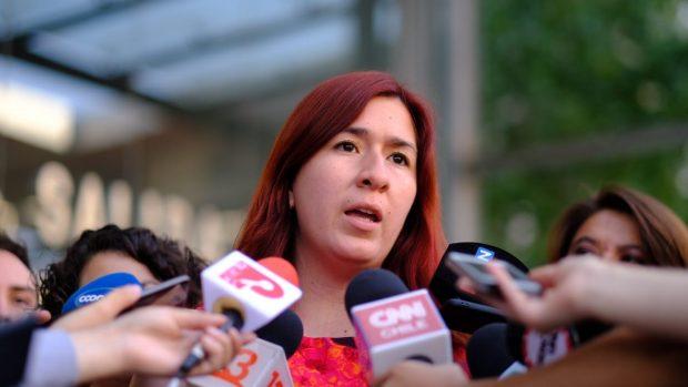 La diputada y presidenta de Revolución Democrática, Catalina Pérez, afirmó que la presentación de esta querella está enmarcada en un deber de las autoridades de asegurar que estos hechos no se vuelvan a repetir. Foto: @fotografoencampana .