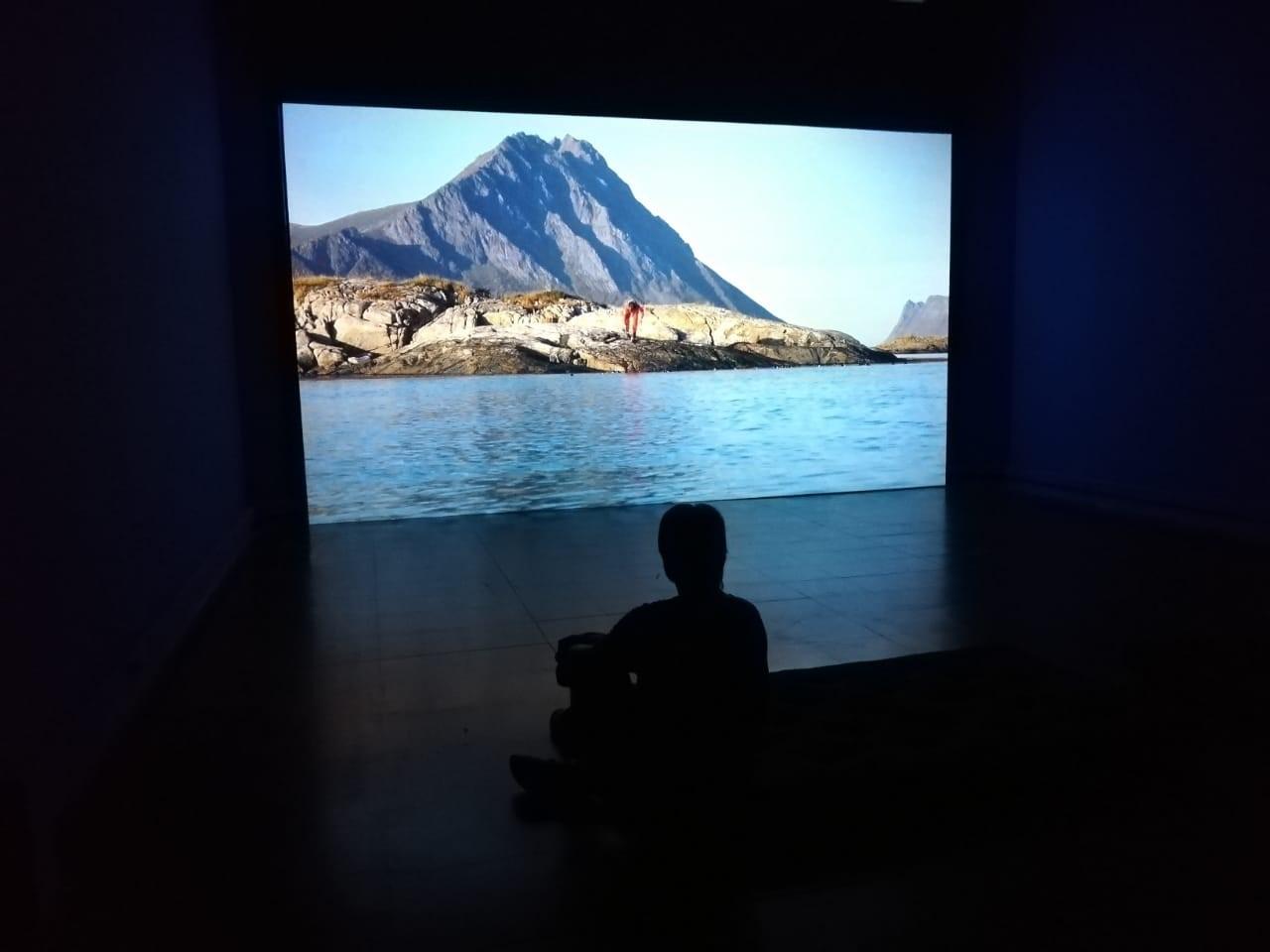 Fotografía sala de exhibición 'Los límites de la tierra'. Gentileza MAC