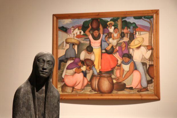 En la imagen, escultura India Mexicana. Fuente: Museo Nacional de Bellas Artes.