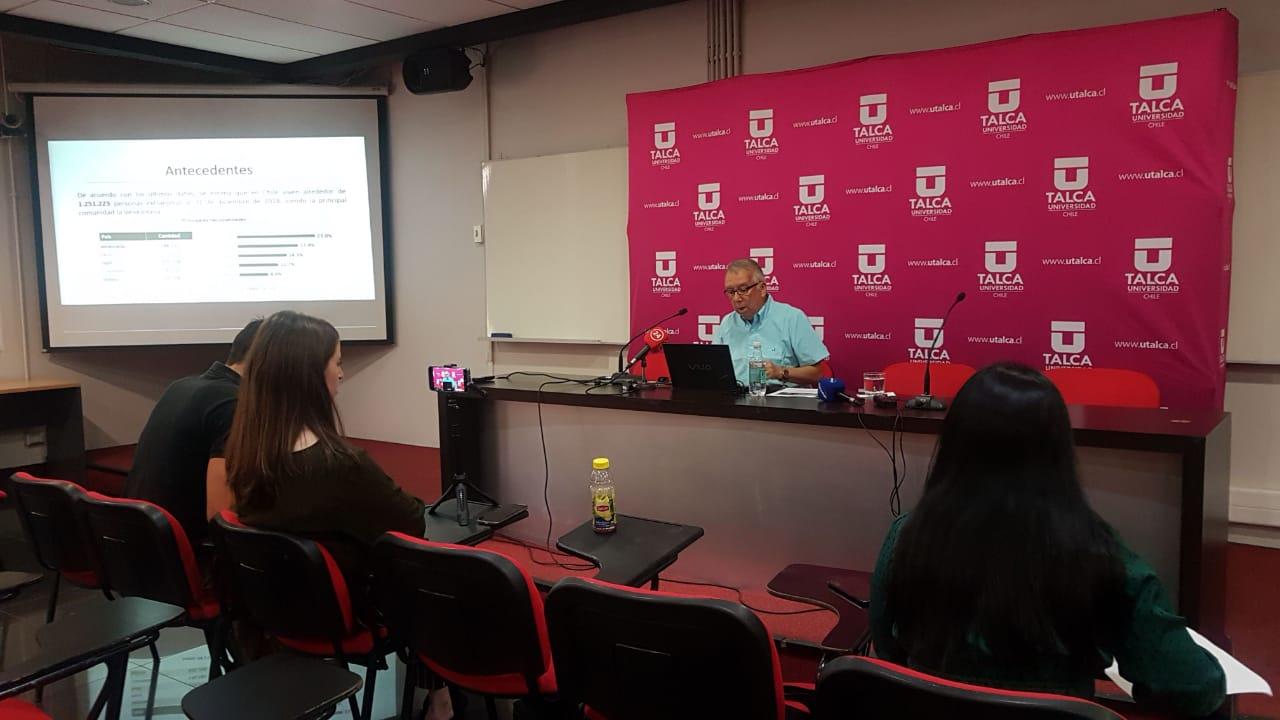 Medardo Aguirre conferencia