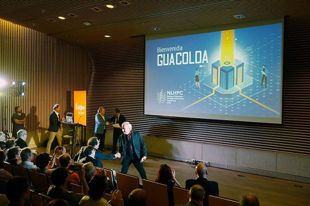 El lanzamiento del equipo se realizó este miércoles 15 de enero en el auditorio Enrique DEtigny de la Facultad de Ciencias Físicas y Matemáticas de la Universidad de Chile.