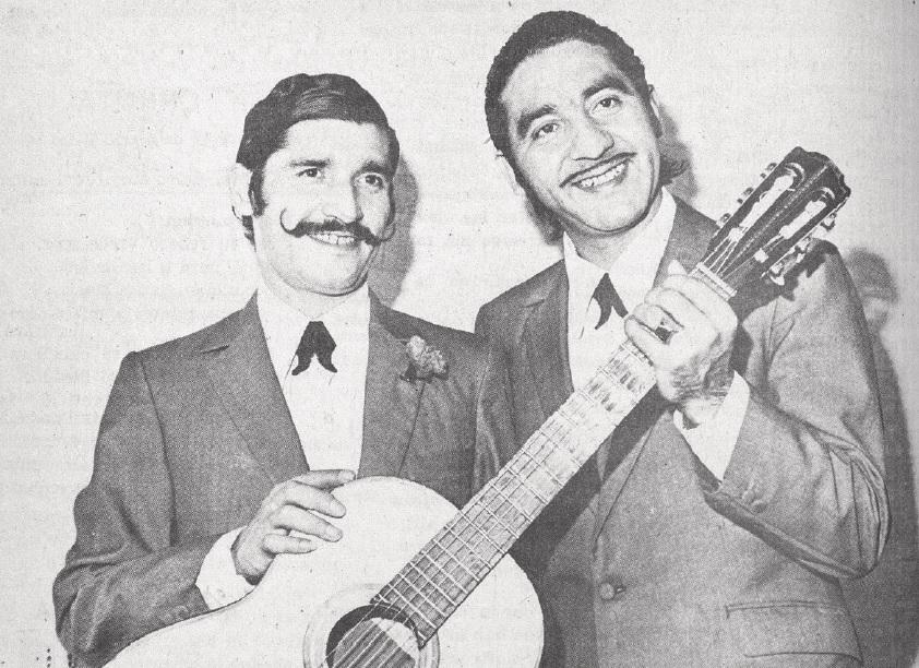 "Dúo Albéniz: ""Angelito"" Silva con Tito Manríquez."