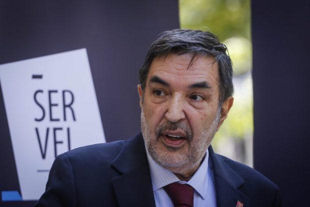 El director nacional del Servel, Patricio Santamaría. Foto: Agencia UNO.