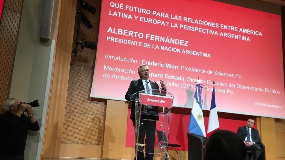 Alberto Fernandez Sciences Po