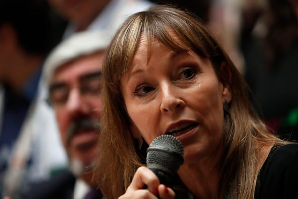 Ana María Gazmuri, vocera de Unidad Social.
