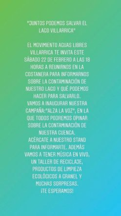 INFORMACION VILLARRICA