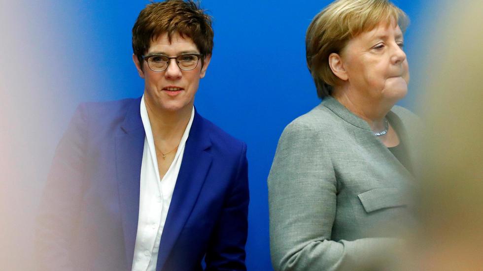 Merkel sucesion