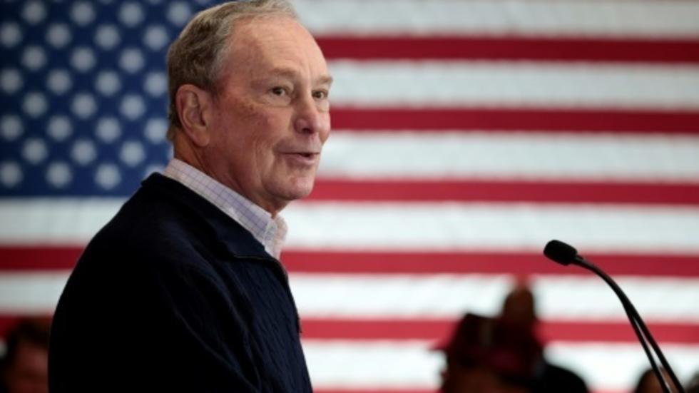 Mike Bloomberg en detroit