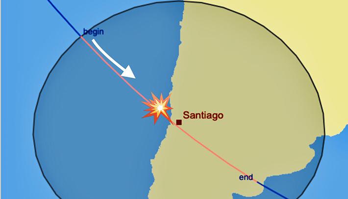 estacion espacial Chile