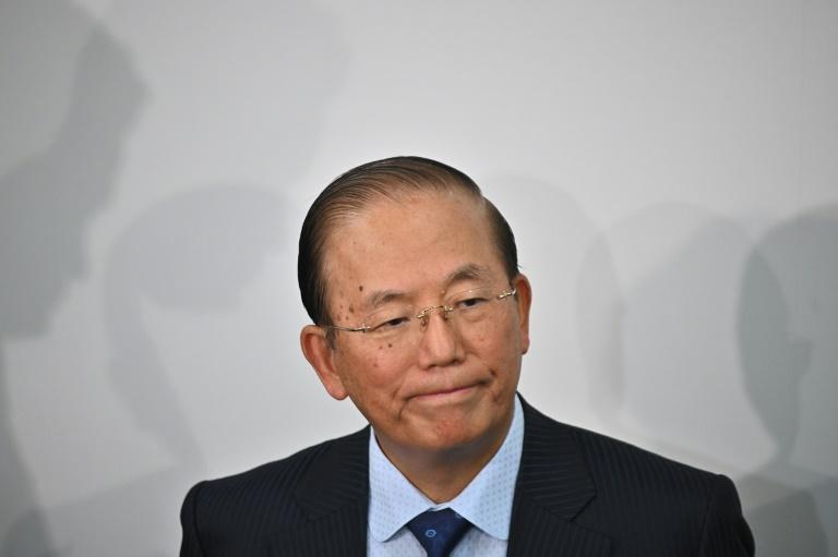 El presidente del Comité de Organización de los Juegos Olímpicos de Tokio-2020, Toshiro Muto, durante la comparecencia de prensa del 26 de febrero de 2020 en la capital japonesa.