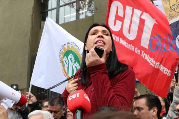 Bárbara Figueroa, presidente de la CUT.