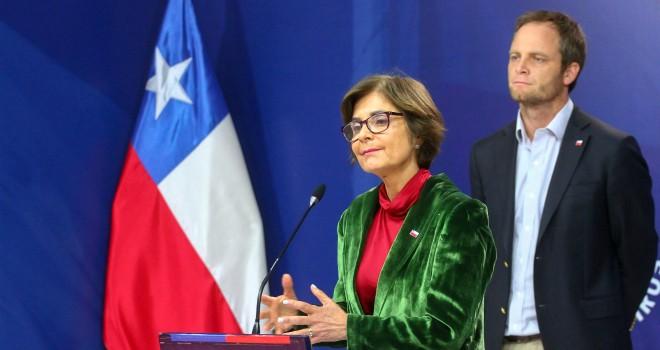 Los subsecretarios de Salud Pública y Redes Asistenciales, Paula Daza y Arturo Zúñiga respectivamente. Foto: Ministerio de Salud.