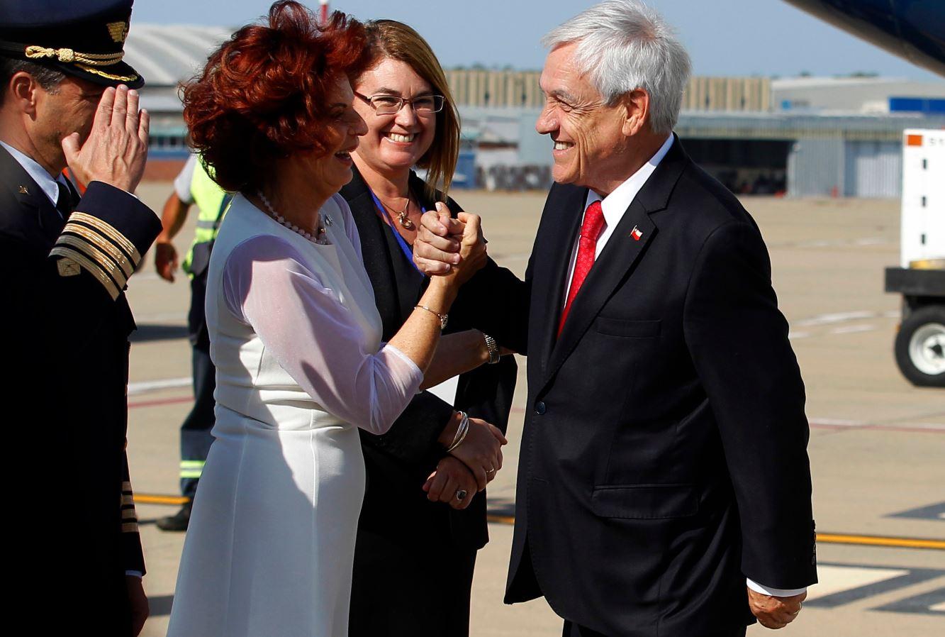 Piñera en Uruguay