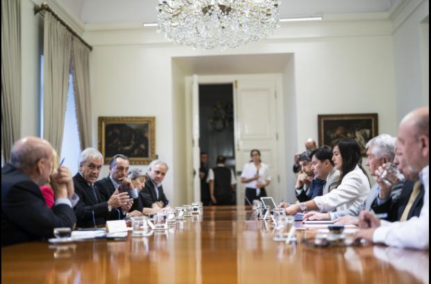 Reunion gobierno expertos