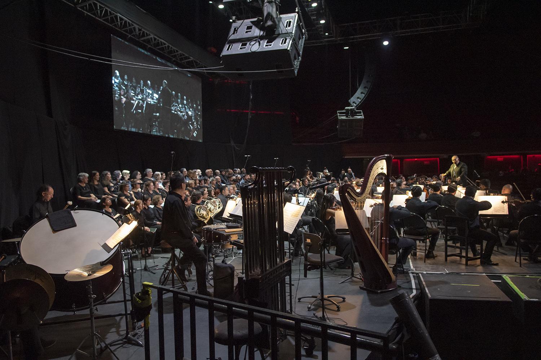 La Sinfónica interpretaría la Novena Sinfonía de Beethoven y el Réquiem de Mozart en el Caupolicán. Foto: Patricio Melo / CEAC.