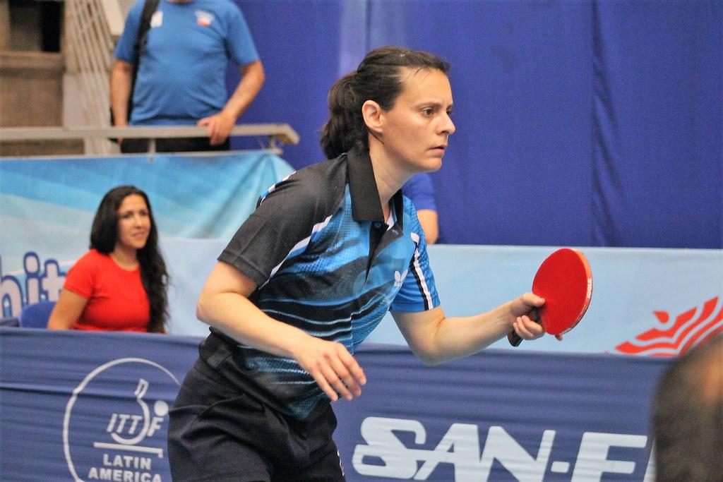 Sofija Tepes es una de las mejores tenismesistas de la historia de Chile.