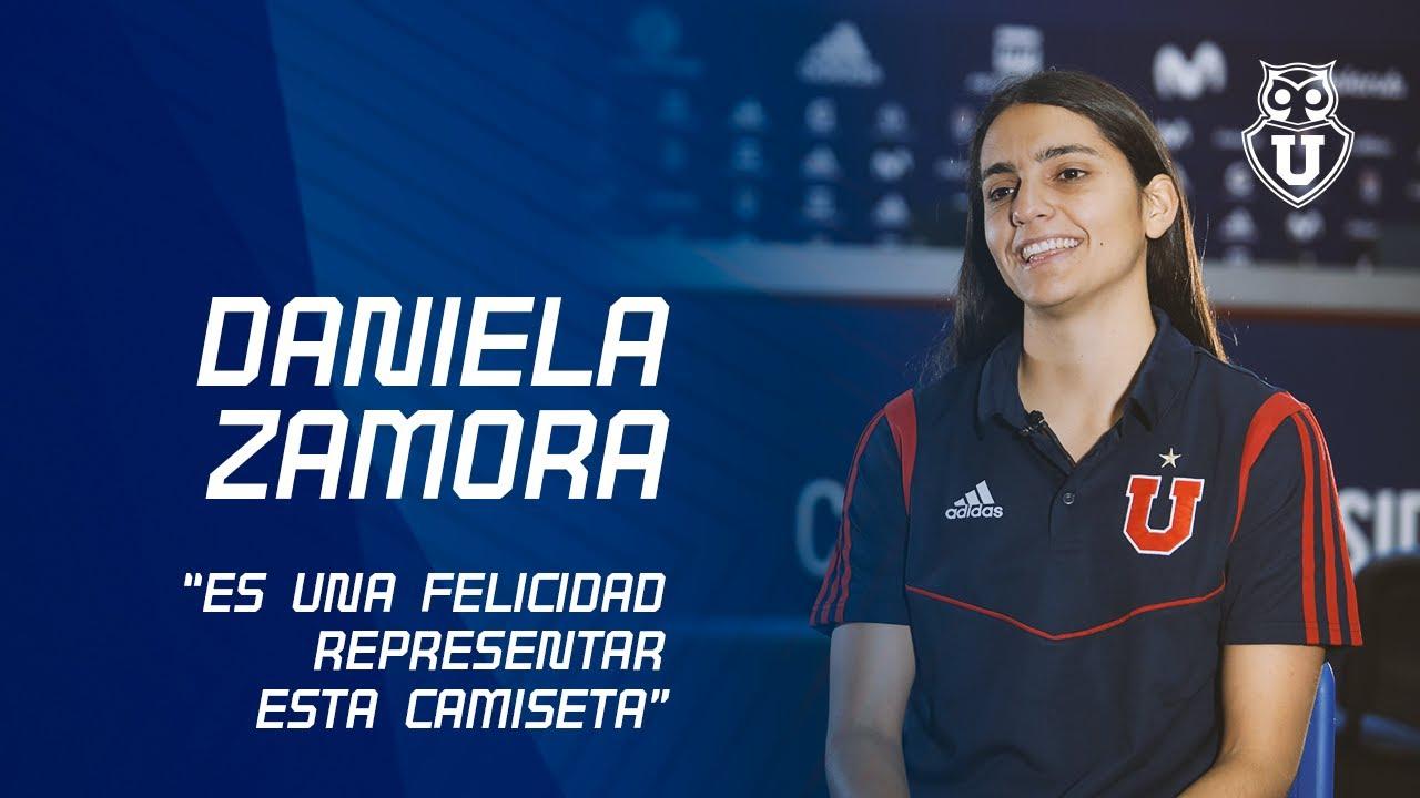 Daniela Zamora es una de las mejores jugadoras de las Universidad de Chile.
