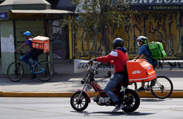 Delivery durante cuarentena