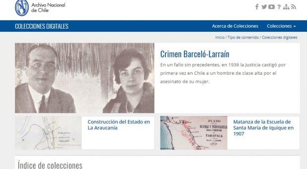 COLECCIONES DIGITALES Archivo Nacional