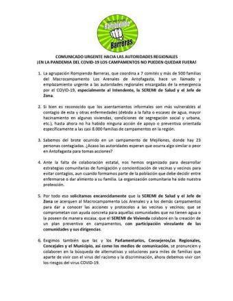 DECLARACION LOS ARENALES
