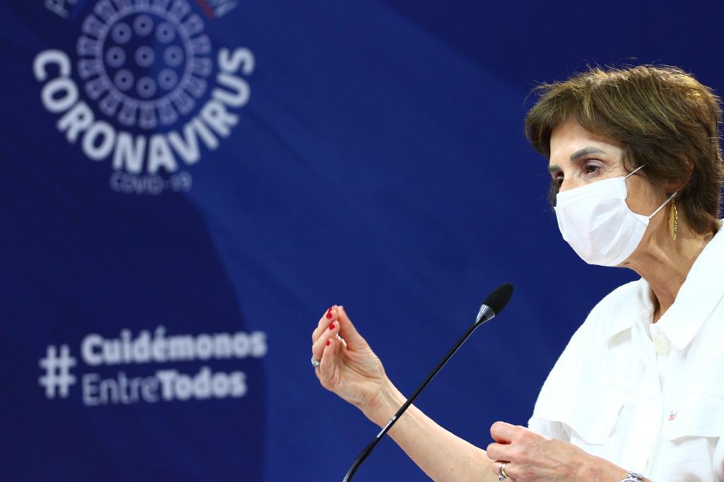 La subsecretaria de Redes Asistenciales, Paula Daza. Foto : Ministerio de Salud.