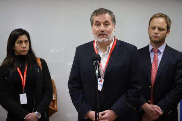 """El vicepresidente nacional del Colegio Médico, Dr. Patricio Meza, sostuvo que, para el gremio, """"no es el momento para hacer un llamado a una cierta normalidad"""". Foto: Colegio Médico."""
