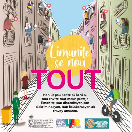 Todo el contenido de la campaña estará disponible en español y en creole.