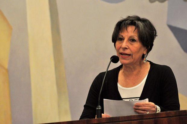 María Emilia Tijoux, coordinadora académica de la Cátedra Racismos y Migraciones Contemporáneas de la Universidad de Chile. Foto: UChile.