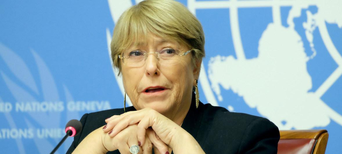 Michelle Bachelet acnudh