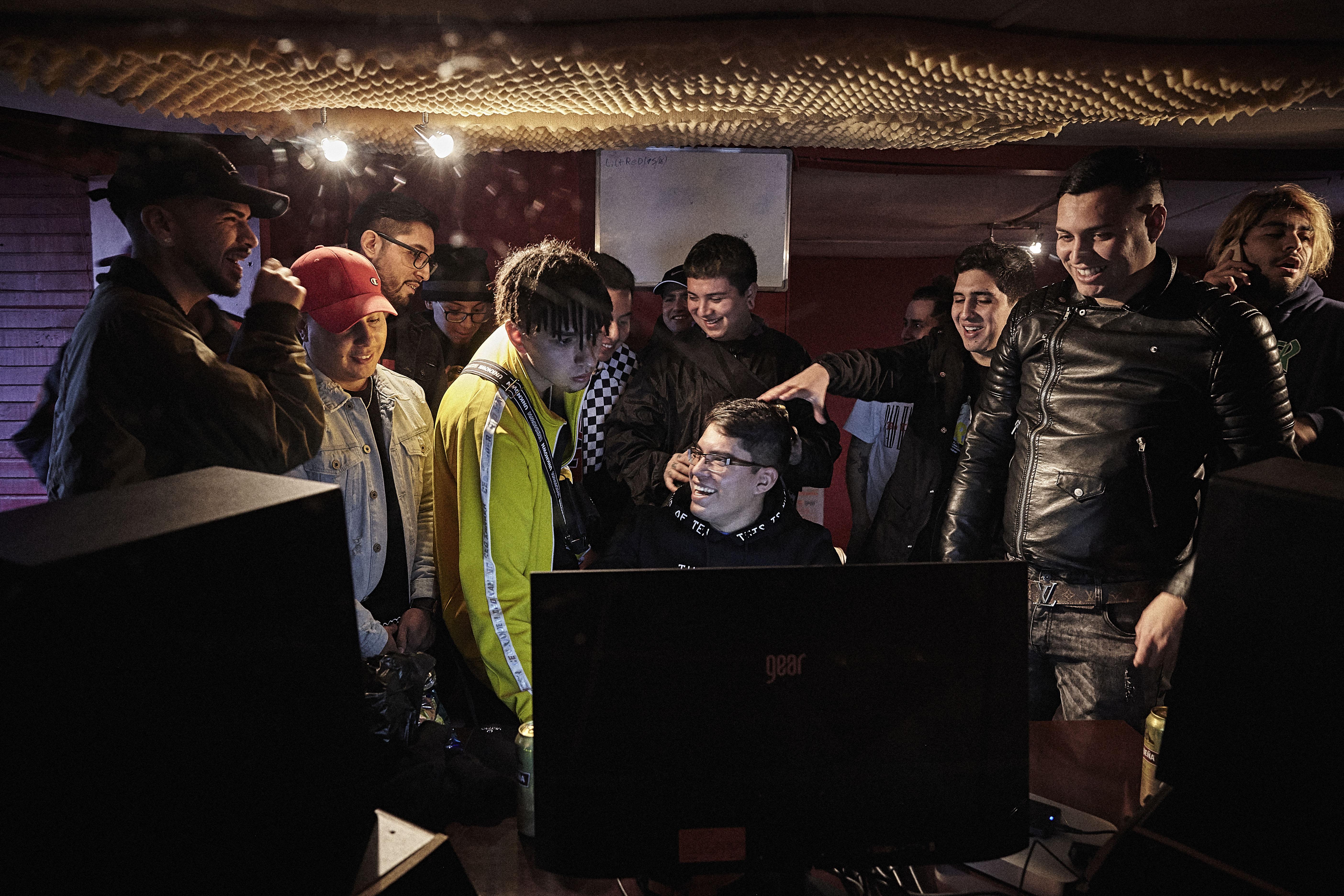Productores y beatmakers por Patricio Miranda.