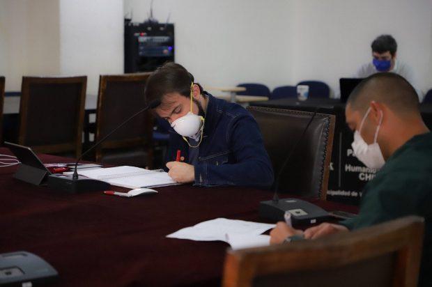 El alcalde de Valparaíso, Jorge Sharp, invitó a funcionarios a participar de una reunión extraordinaria del Comité de Seguridad comunal, en donde se comprometió a oficiar al ministro de Justicia ante las denuncias manifestadas por la Asociación Nacional de Suboficiales y Gendarmes (ANSOG). Foto: ANSOG.