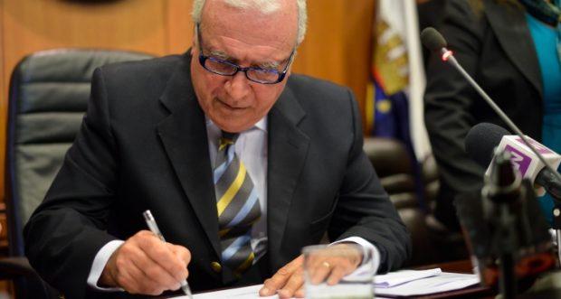 El alcalde de Ñuñoa, Andrés Zarhi, lamentó que no se haya renovado la medida de cuarentena total en la totalidad de su comuna. Foto: Municipalidad Ñuñoa.