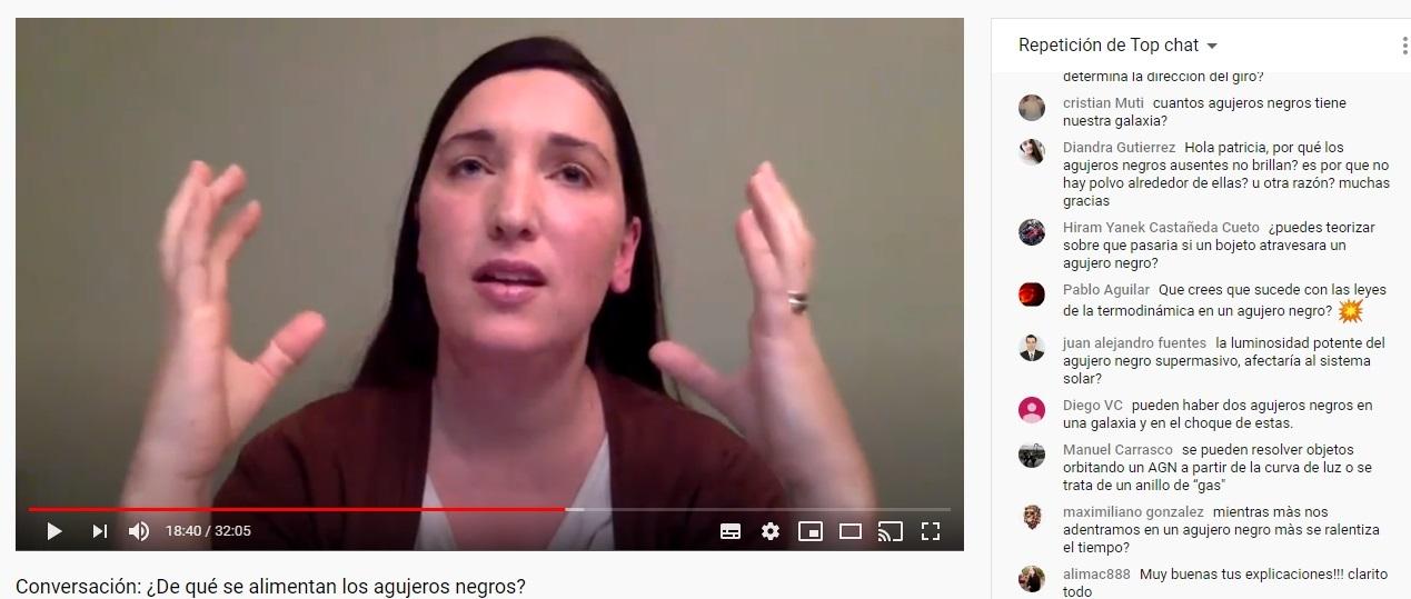 Imagen de Youtube correspondiente a la charla del viernes 10 de abril.