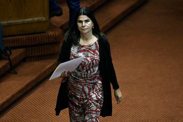 La diputada de Renovación Nacional, Ximena Ossandón, ha manifestado estar de acuerdo con el impuesto a los súper ricos, pero que se debe mejorar el mecanismo para la recaudación. Foto: Agencia UNO.