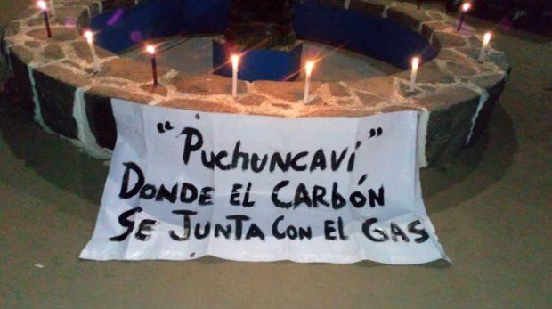 manifestación puchuncaví
