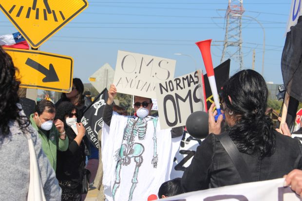 protesta quintero contaminacion
