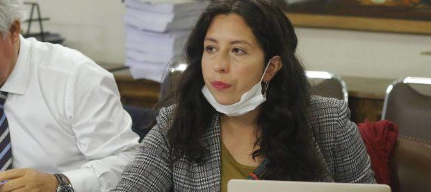 La diputada y presidenta de Convergencia Social (CS), Gael Yeomans, es parlamentaria por el Distrito N°13 de la Región Metropolitana. Foto: Convergencia Social.
