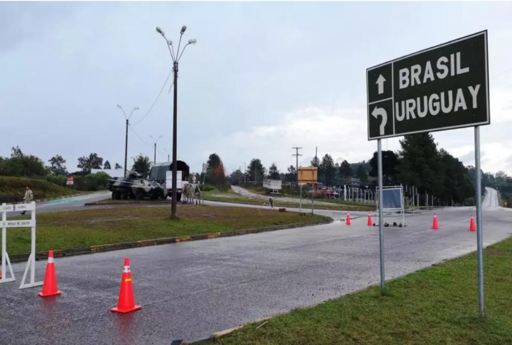 frontera Brasil uruguay