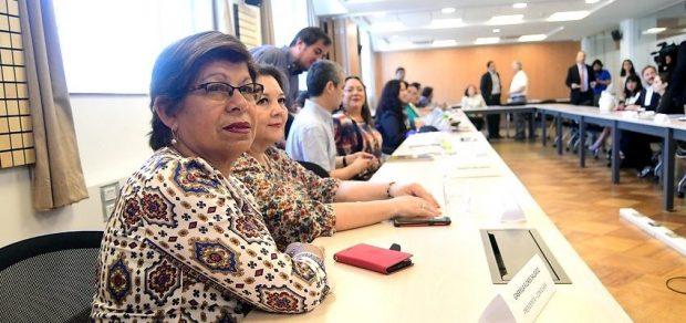 Presidenta de la Confusam, Gabriela Flores Foto: Agencia Uno