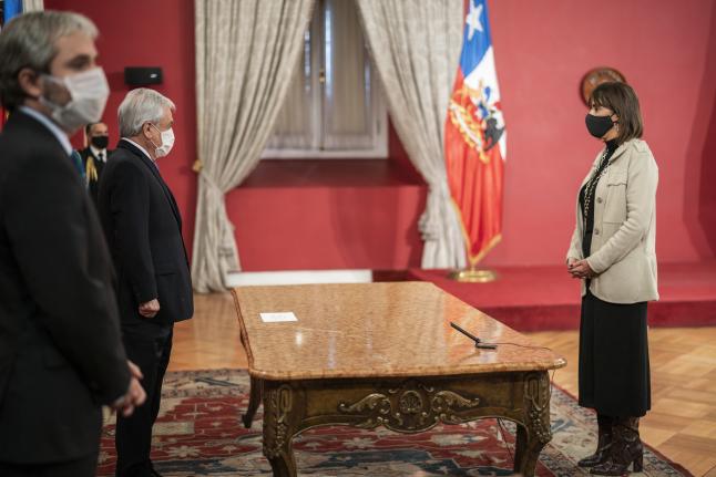 Monica Zalaquett Foto: Presidencia