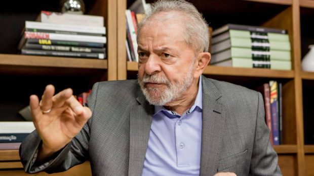 """""""Estoy muy tranquilo"""", aseguró el expresidente de Brasil, Lula Da Silva, tras conocer la decisión del Tribunal Supremo de Brasil que ratificó la anulación de sus condenas. Foto: Archivo."""