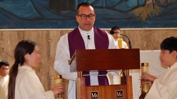 El sacerdote Jorge Laplagne lideraba la parroquia de Maipú en el momento en que ocurrieron los hechos denunciados por Javier Molina. El Vaticano lo declaró culpable de abuso sexual esta semana. Foto: Archivo.