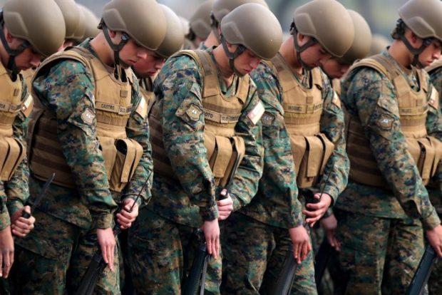 la acción legal busca la nulidad de derecho público respecto de los actos administrativos del Ejército de Chile, en los que se traspasaron internamente terrenos que habían sido cedidos por el ministerio de Bienes Nacionales en el año 1989. Foto: Agencia UNO.