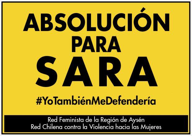 Afiche Absolución para Sara
