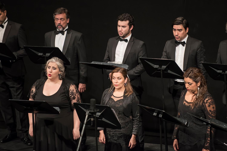 Camerata Vocal. Foto: Patricio Melo / CEAC.