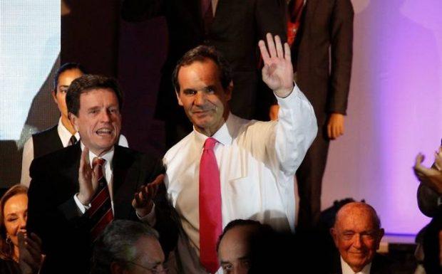 Carlos Larraín y Andrés Allamand