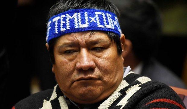 El padre del comunero mapuche Camilo Catrillanca, Marcelo Catrillanca, prestó declaración en calidad de testigo durante el juicio por el asesinato de su hijo. Foto: Archivo.