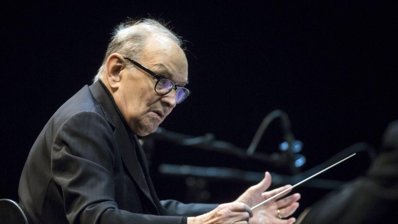 EL compositor italiano Ennio Morricone se presenta en Budapest