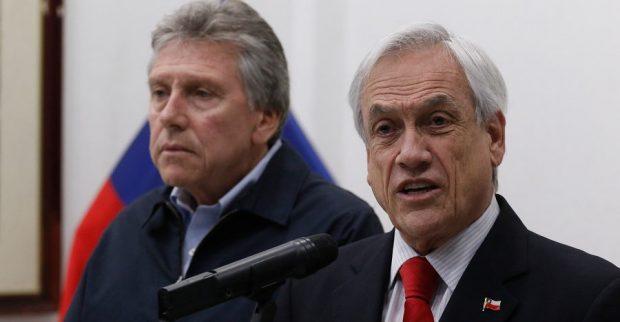 En medio de la pandemia, una de las prioridades del gobierno del presidente Sebastián Piñera y de la cartera de Defensa, liderada por Alberto Espina, es el proyecto de ley de inteligencia. Este año se le han presentado 11 urgencias para acelerar su tramitación. Foto: Agencia UNO.