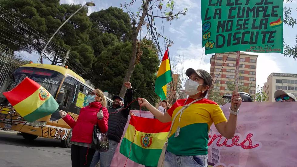 Fracasa diálogo en Bolivia para fijar la fecha de las próximas elecciones «  Diario y Radio U Chile